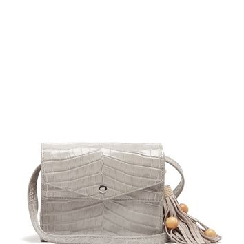 Eloise crocodile-effect leather cross-body bag | Elizabeth And James | MATCHESFASHION.COM US