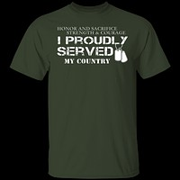 I Proudly Served T-Shirt