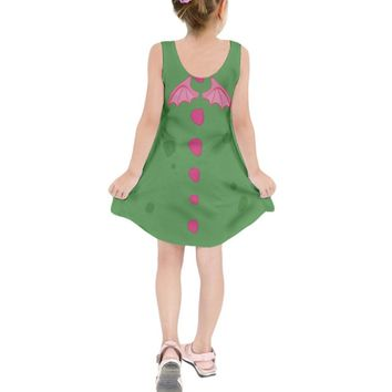 Kid's Elliott Pete's Dragon Inspired Sleeveless Dress