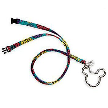 Mickey and Minnie Mouse Medallion Lanyard by Vera Bradley