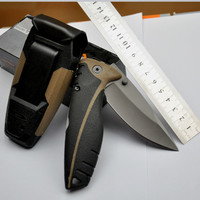 Bear Folding Knife Outdoor Survival Camping Hunting Knives Pocket Knife