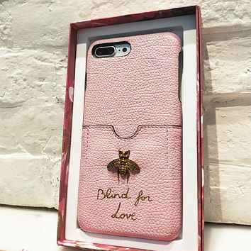 GUCCI Fashion Bee iPhone Phone Cover Case For iphone 6 6s 6plus 6s-plus 7 7plus 8 8plus