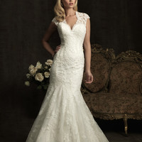 Allure Bridals 8923 Vintage Lace Wedding Dress