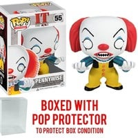 Funko Pop Movies:  Pennywise 55 3363 W/Protector case