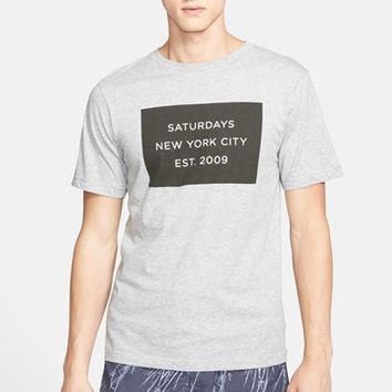 Men's Saturdays NYC 'Established' Graphic T-Shirt,