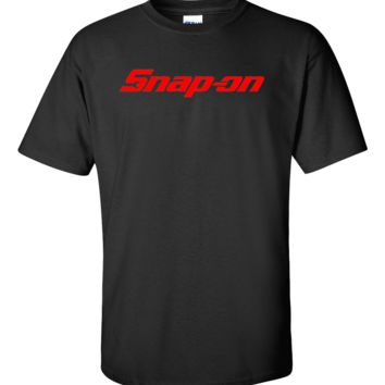 SNAP-ON tools t-shirt mechanics auto parts racing nascar professional wrenches