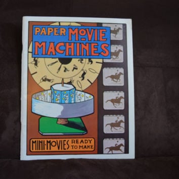 Vintage Mini Movies Ready To Make Instructional Book 1975