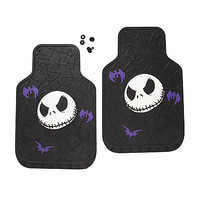The Nightmare Before Christmas Jack Car Floor Mat Set