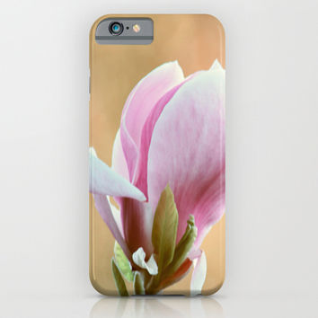 Pink magnolia iPhone & iPod Case by Shalisa Photography