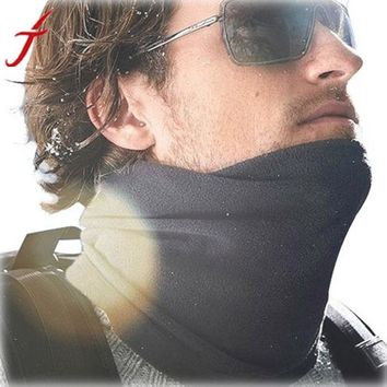 Solid Shawl Horse Foulard Hijab From India Winter Neck Warmer Face Mask Hat Cycling #LSN