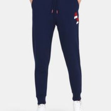 Armani Exchange BICOLOR LOGO SWEATPANTS, Fleece Pant for Women | A|X Online Store