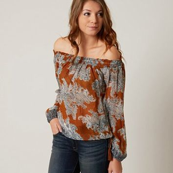 LUCKY BRAND OFF THE SHOULDER TOP