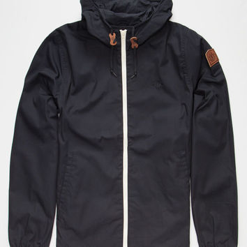 Element Alder Mens Jacket Dark Blue  In Sizes