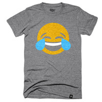 Crying Laughing Emoji T-shirt