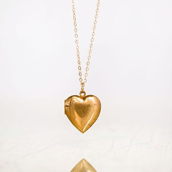 Two Hearts Beat As One •Map Locket