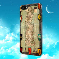Game of Thrones Maps for iPhone, Samsung Galaxy and iPod cases