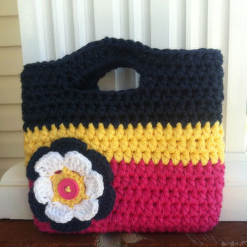 Toddler Girl Purse/Birthday Gift/Little Girl Purse/Crochet