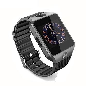 New Smart Watch  With Camera Bluetooth WristWatch SIM Card Smartwatch For Phones Support Multi languages