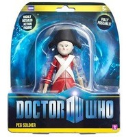 Dr Who 12.5cm Peg Doll Soldier Series 6 (2d) with Flesh Sachet