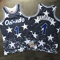 1994-95 Mitchell & Ness Orlando Magic 1 Anfernee Hardaway Swingman Jersey