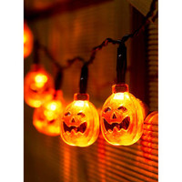 Halloween Pumpkin String LED Fairy Lights