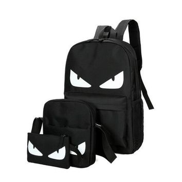 Anime Backpack School OZUKO 2018 New Men Bag Fashion Travel Male kawaii cute Schoolbag For Teenage Girls Boy Popular Luminescence Computer Laptop Backpack AT_60_4