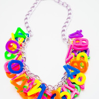 Rainbow Game Necklace