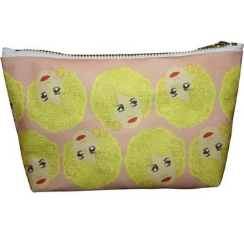 Dolly Parton Makeup Bag – Pop Icon Zipper Pouch