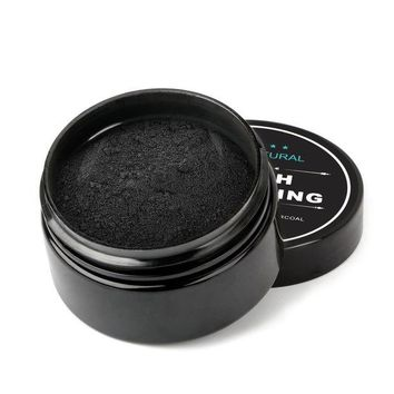 2 Pack Natural Teeth Whitening Activated Charcoal Toothpaste Powder