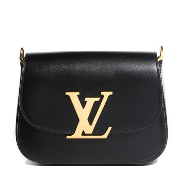 LOUIS VUITTON Box Calfskin Vivienne LV Black