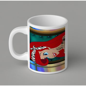 Gift Mugs | Bandana Punk Mermaid Tattoo Ceramic Coffee Mugs