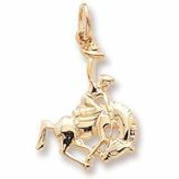Cowboy Charm In Yellow Gold