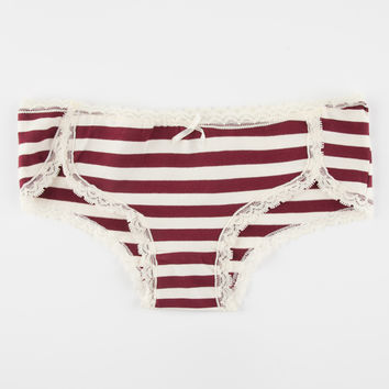 Lace Stripe Boyshorts | Panties