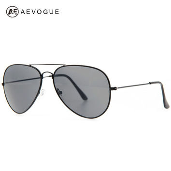 AEVOGUE Free shipping Brand sunglasses men Good Quality Metal frame sun glasses 11colors UV400 AE0160
