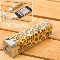 2500 mA mobile power Leopard
