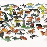Under The Sea! Plastic Sea Life Creatures (90 pc):Amazon:Toys & Games