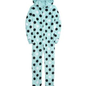 HOODED CAT Onesuit | GIRLS PAJAMAS SLEEP & UNDIES | SHOP JUSTICE