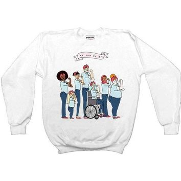 Intersectional Rosie -- Sweatshirt
