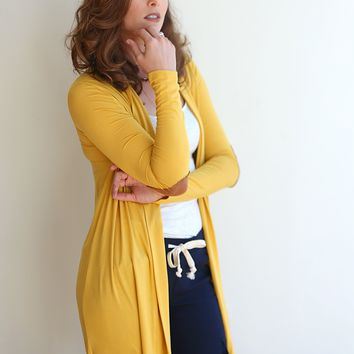 Polo Patch Cardigan-- 3 Colors