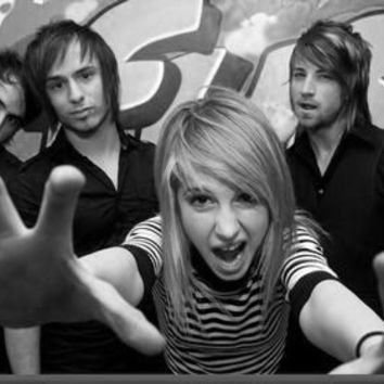 "Paramore Poster Black and White Mini Poster 11""x17"""