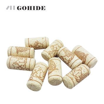 15pcs/lot Straight Bottle Wood Corks Wine Bottle Stopper Corks Wine Stoppers Bottle Plug Bar Tools Wine Cork Wooden Sealing Caps