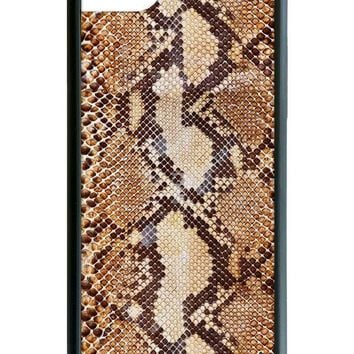 Tan Snakeskin iPhone 6/7/8 Case