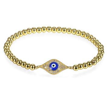 Elastic Evil eye Bracelets For Women