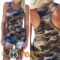 Women's Camo Tank Top - Plus Sizes