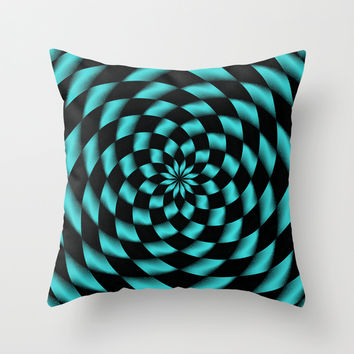 Tessalation 1 Throw Pillow by Alice Gosling
