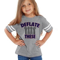 Deflate These Patriots Tee Jersey NFL Shirts | Customized NFL Shirts | Matching Football Shirts | New England Patriots