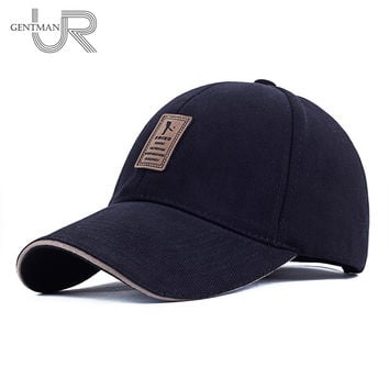 Unisex Fashion Baseball Cap Sports Golf Snap back Simple Solid Color Hats For Men High Quality Cap