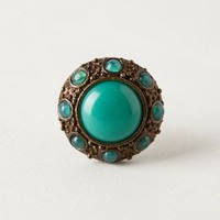 Emerald Palace Knob by Anthropologie Turquoise One Size Knobs