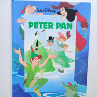 Vintage Walt Disney's Peter Pan Hardback Children's Book 1989