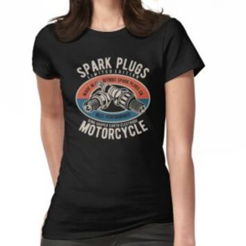 'SPARK PLUGS' T-Shirt by Super3